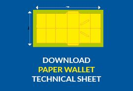 Paper wallet download technical sheet