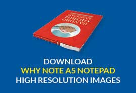 Why Note A5 size notepad with pen download high resolution image