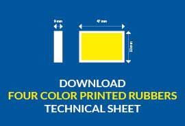 four color printed rubbers download technical sheet