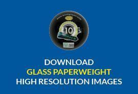 Download HR image: Glass Paperweight