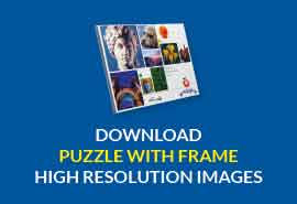 puzzle with frame download high resolution image