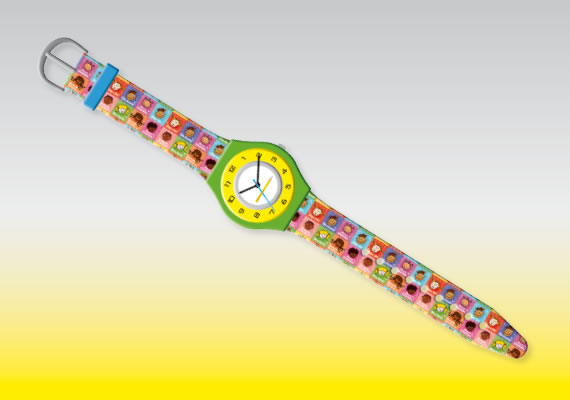 Wristwatch customizable